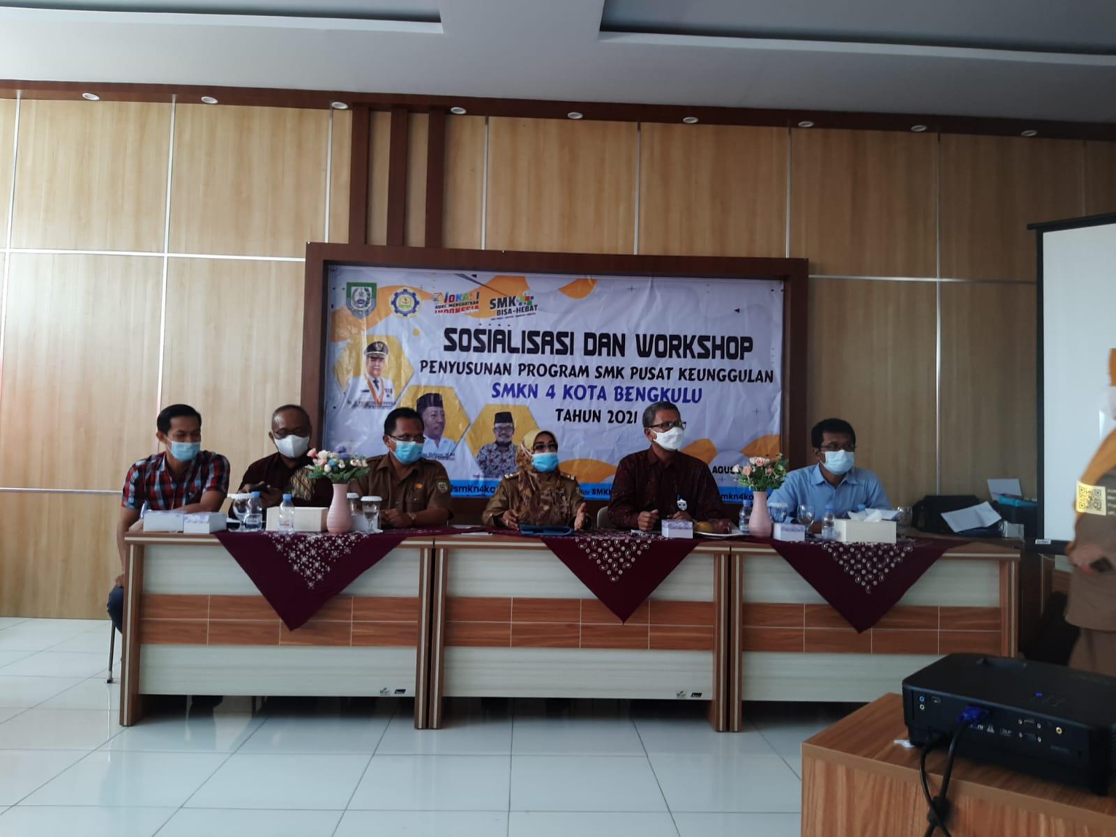 SOSIALISASI DAN WORKSHOP PENYUSUNAN PROGRAM SMK PK